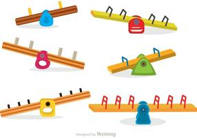 Collection Of See Saw Vectors