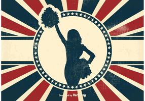 Fundo Vintage Cheerleader