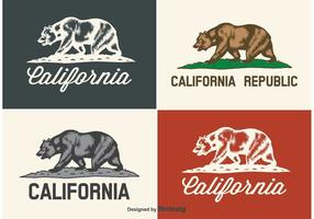 Californië dragen labels
