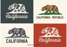California Bear Labels