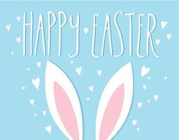 Easter Bunny Ears Vector Illustration