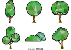 Polygonal Trees