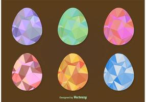 Oeufs de pâques géométriques