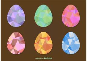Geometric Easter Eggs