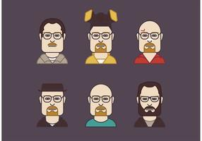 Walter White Vector Set
