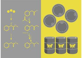 Breaking Bad Meth Chemistry Vector Set