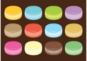 Vecteurs Macarons