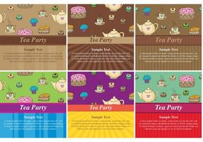 Cartes à thème de Tea Party