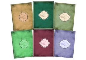 Vectores De Cubierta De Libro Antiguo