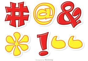 Hashtag Sosial Medios Símbolo Vector