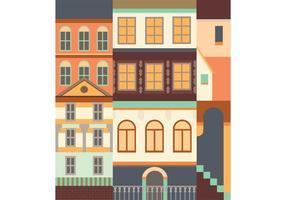 Vector de edifícios