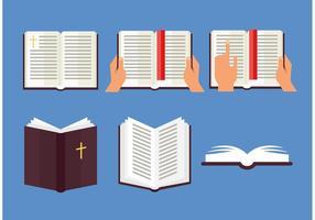 Open Bible Vector Set