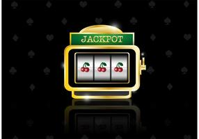 Vector de slot machine grátis