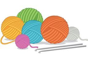 Boule de vecteurs de fil vecteur