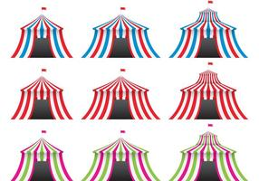 Färgglada Big Top Vectors