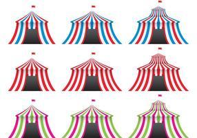 Colorful Big Top Vectors