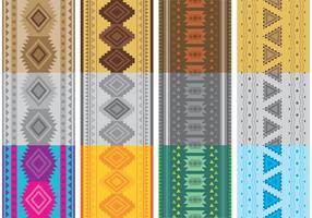Native American Patterns Vektoren