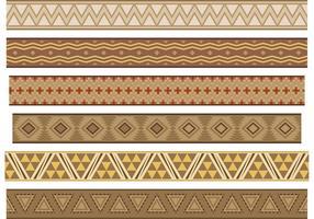 Inheemse Amerikaanse banner vectoren