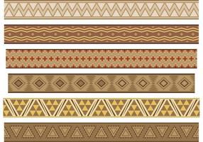 Native American Banner Vektoren