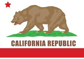Vector del oso de California