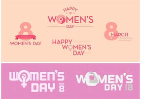 Womens day free vector