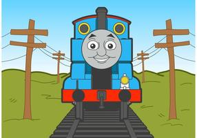 Thomas the train vector gratuit