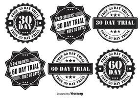 Trial Badge Set