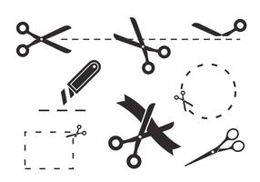 Scissors Coupon Vectors