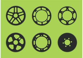 Bicicleta Sprocket Vector Libre