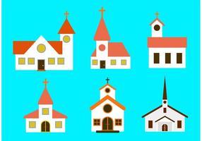 Vetores da igreja do país