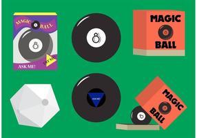 Vectores mágicos de 8 bolas