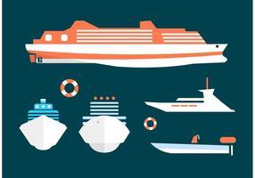 Vetores Cruise Liner