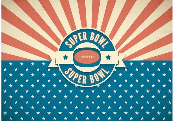 Free Super Bowl Retro Vector Background Download Free Vectors Clipart Graphics Vector Art