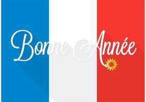 Free Bonne Année Vector Background