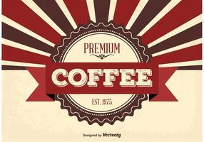 Fondo de café de primera calidad