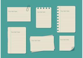 Ruled Paper Text Box Templates