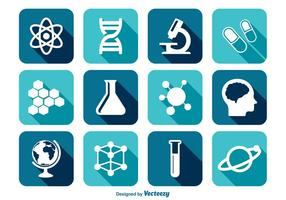 Science Vector Icon Set