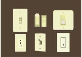 Light Switch Free Vector
