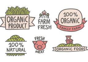 Free Farmers Markt Vektoren