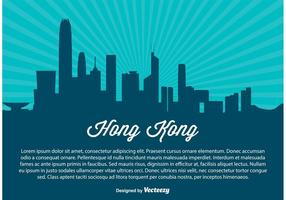 Hong Kong Skyline Illustration