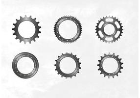 Gratis fiets sprocket vector