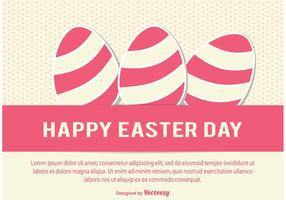 Easter Day Vector Illustration