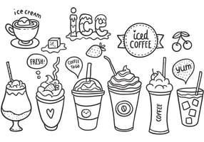 Gratis Iced Coffee Vector Pack