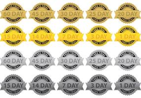 Free Trial Badge Vectors