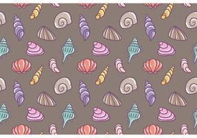 Pearl Shell Vector Seamless Pattern