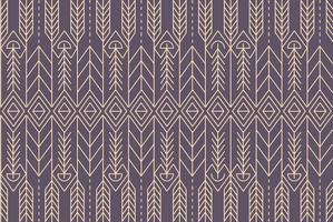 Native Abstract Pattern Hintergrund Vektor