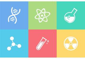 Gratis Science Vector Pictogrammen