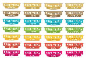 Gratis Trial Headers