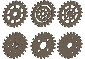 3D Bike Sprocket Vectors