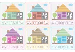 Yard Sale Sign Vectors